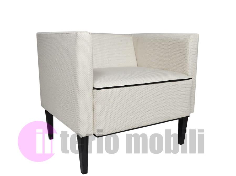 Komplet Wypoczynkowy Sofa Fotel Na Nóżkach Tkanina Jolie Petit Kolor Ecru